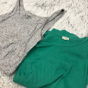 Set of 2 Tank Tops-XS